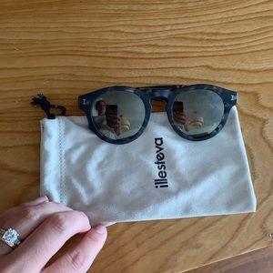 Illesteva made in Italy sunglasses tortoise